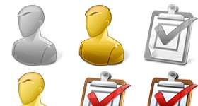 User Task Report Icons