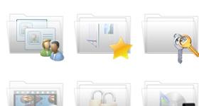 Clarity Folder Icons