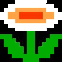 8bit, Flower, Retro Icon