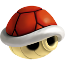 Red, Shell Icon