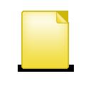 Document, Plain Icon