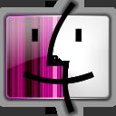 Finder, Pink Icon