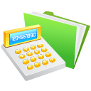 Calculator, Money Icon