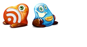 Feed Twitter Monster Icons