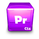 Adobe, Cs, Pr Icon