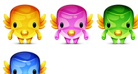 Fly Creatures Icons