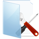 Blue, Tools Icon
