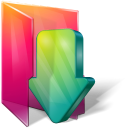 Aurora, Downloads, Folders, Icontexto Icon