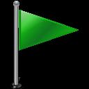 Flag1rightgreen Icon