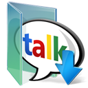 Download, Google, Talk Icon