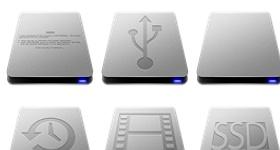 Slick Drives Remake Icons