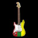 Guitar, Reggae, Stratocaster Icon