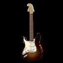 Guitar, Orange, Stratocaster Icon