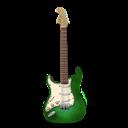 Green, Guitar, Stratocaster Icon