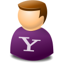 Icontexto, User, Web, Yahoo Icon