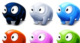 Creatures Ball Icons