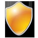 Shield, Yellow Icon