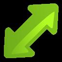 Arrow, Diagright Icon