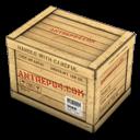 Box, Closed, Wood Icon