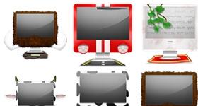 Crazy iMac Icons