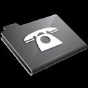Grey, Phone Icon