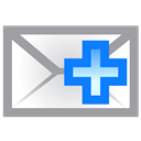 Add, Envelope Icon