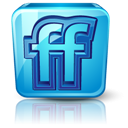 Detail, Friendfeed, High Icon