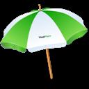 Sun, Umbrella Icon