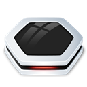 Black, Harddrive Icon