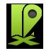 Green, Maps Icon