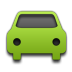 Car, Green Icon