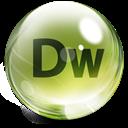 Dreamweaver, Glass Icon