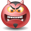 Devil, Emoticon Icon