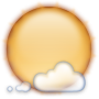 Round, Weather Icon