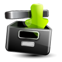 Download, Shadow Icon