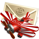Mail, Plane Icon