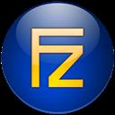 Bleu, Filezilla Icon