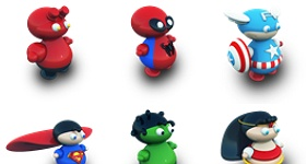 Archigraphs Super Heroes Icons