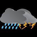 Storm, Weather Icon