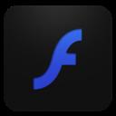 Adobeflash, Blueberry Icon