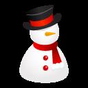 Hat, Snowman Icon