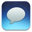 Blue, Messages Icon