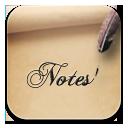 Notes, Vintage Icon