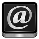 Mail, Metallic Icon