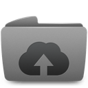 Folder, Upload, Web Icon