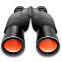 Binoculars, Find, Search Icon
