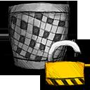 Trash, Unlocked Icon