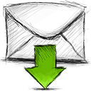 Download, Email Icon