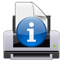Attention, Information, Print Icon