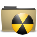 Burn, Folder, Manilla Icon